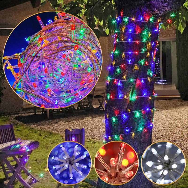 guirlande electrique multicolore  cyclades elec